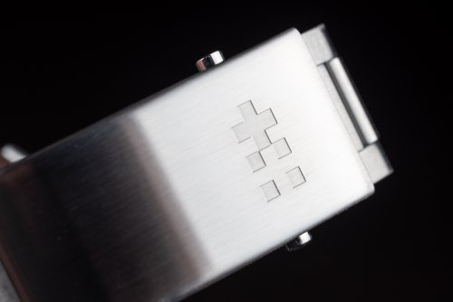 Clasp of the bracelet on the Christopher Ward C65 GMT