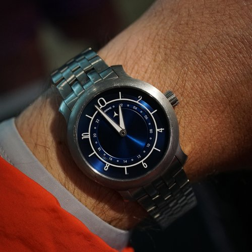 Ming Watches wrist shot