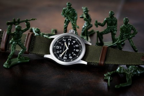 The Hamilton Khaki Field Mechanical can trace its roots back to being an issued watch for the Military